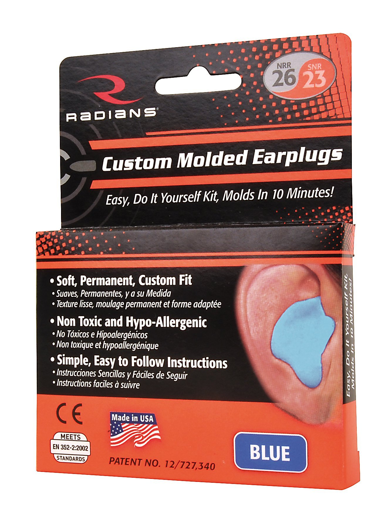 Custom Molded Earplugs, DO-IT-YOURSELF KIT