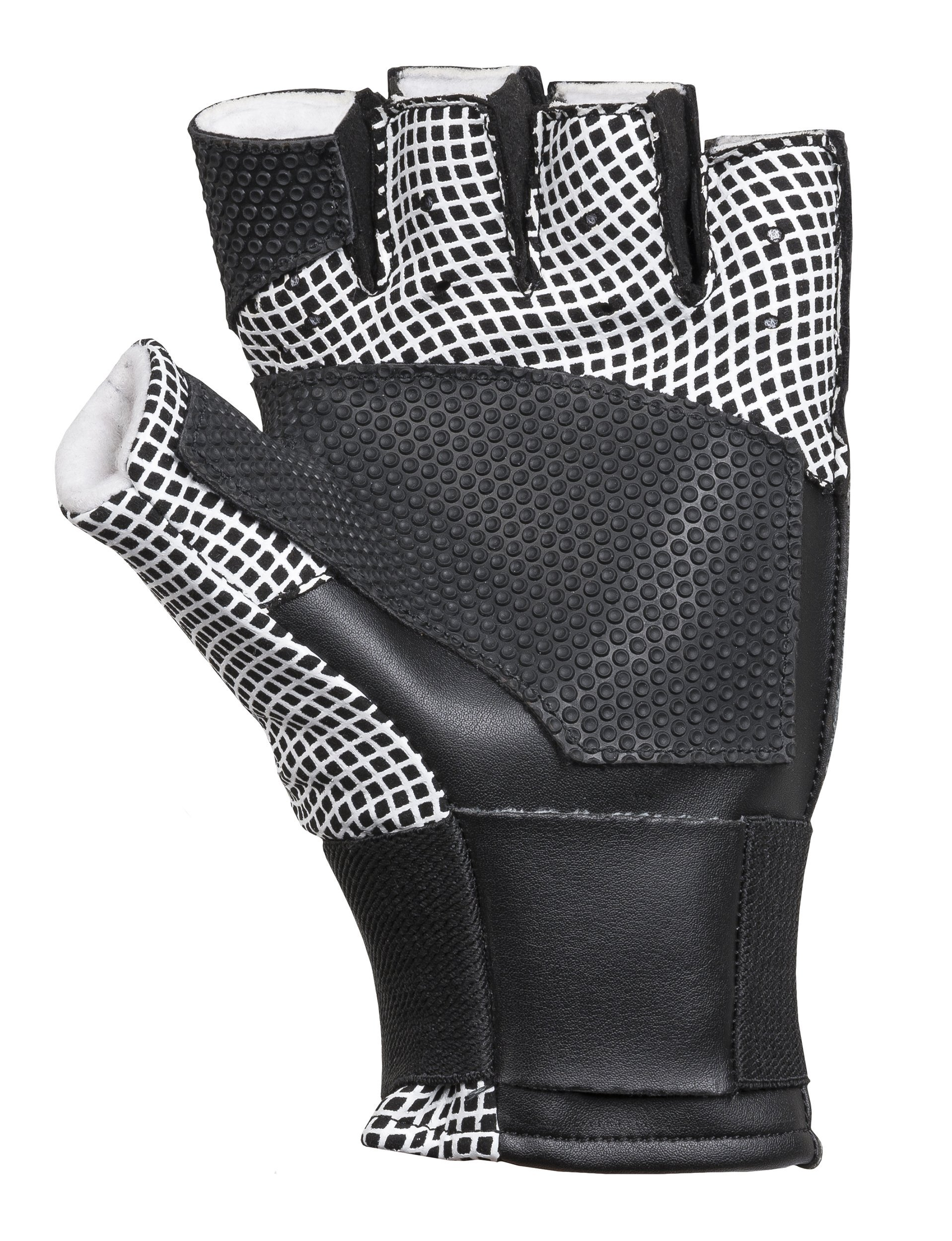 ahg shooting glove Black Grip